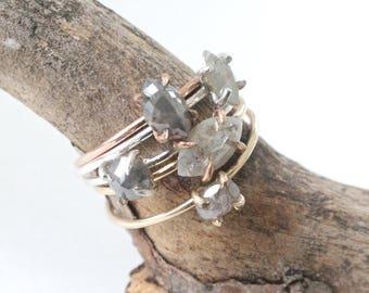 Dainty Diamond Rings