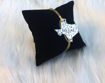 Texas Bangle || Gold or Silver ||