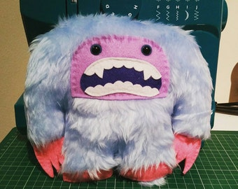 Yeti Plush Toy Yeti Monster Plush Abominable Snowman plush toy