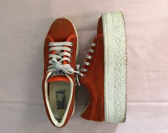 Vintage Platform Sneakers