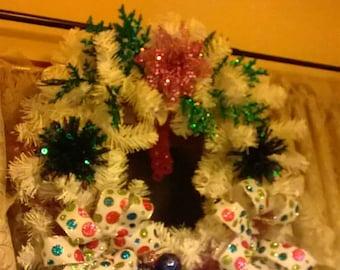 silk flower arrangements and wreaths