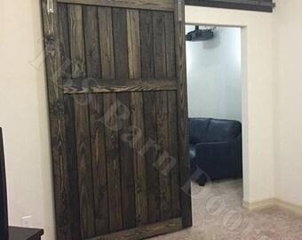 "Mid-Bar.......Custom Sliding Barn Doors. Made to fit your style!    ""Interior / Exterior Barn Doors""  TBS Barn Doors"