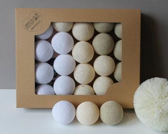 Cotton Balls Pearl 50 items