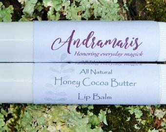 Honey Cocoa Butter Lip Balm