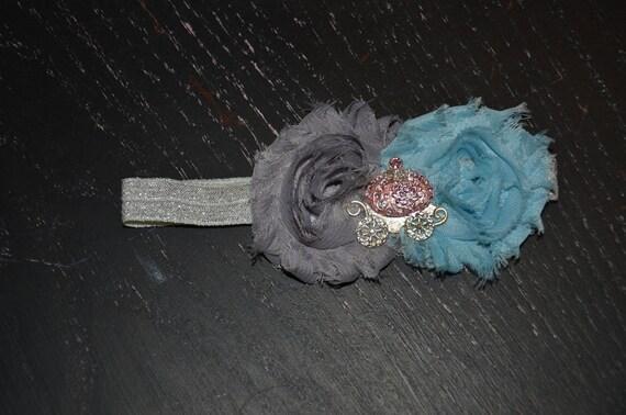 Newborn  Cinderella Inspired headband
