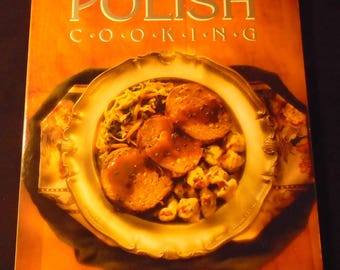 POLISH COOKING Cookbook Vintage HP Books by Marianna Olszewska Heberle Softcover Poland Recipes European Cuisine 1990s