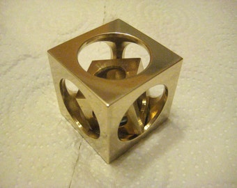 Bronze cube in a cube from Engineer BrunS