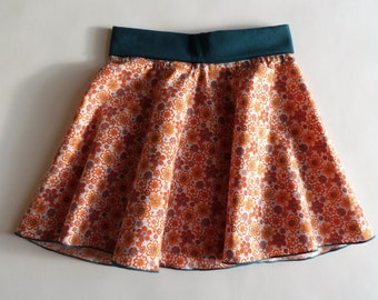Skirt Sun/turns orange child w: 2/3 years