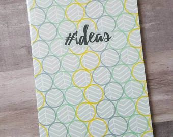 Lined Idea Notebook