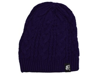 Crux Beanie by Let's Be Irie - Purple