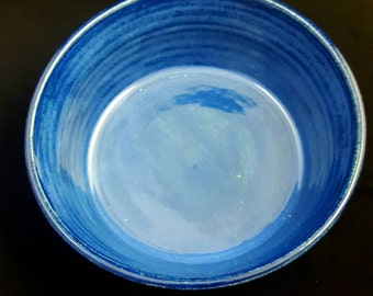 Cobalt Blue Ceramic Serving Dish