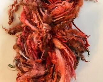 Tail Spun Fire Art Yarn