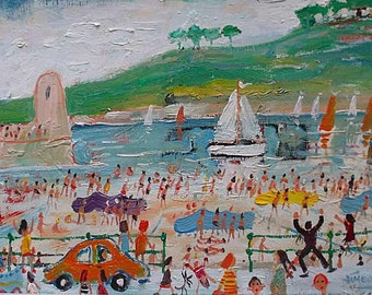 Simeon Stafford Original Oil Painting - St Ives Cornwall