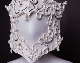 Mask - Headpiece- Bal - Venitian -  Baroque - Burlesque Cosplay - Fae - Princess