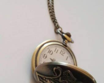 Necklace watch HP with or without pendants PIECES