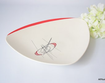 Lovely Retro Serving Plate, Carltonware Plate, Mid Century Plate, c 1950 s