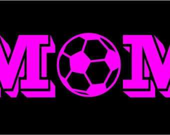 Soccer Ball Decal Etsy - Soccer custom vinyl decals for car windows