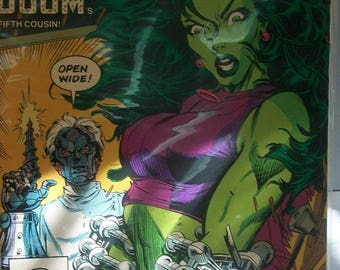 1990 The Sensational She-Hulk #18 Doctor Doom's Fifth Cousin  VF-NM Vintage  Marvel Comic Book