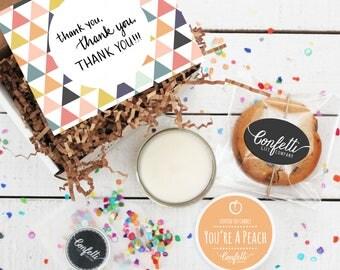 Mini Thank You Gift Box -  Appreciation Gift | Best Friend Gift | Teacher Gift | Teacher's Aide Gift | Room Parent Gift | Coworker Gift |