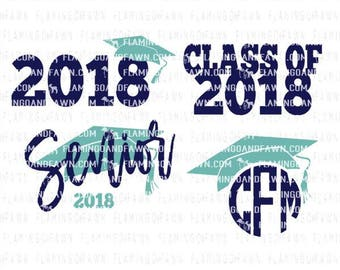 graduation svg, 2018 graduation svg, 2018 svg, graduating svg, svg graduation, graduation monogram svg, class of 2018 svg, senior svg