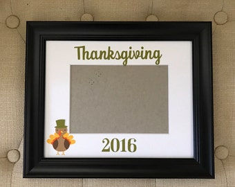 Thanksgiving picture frame