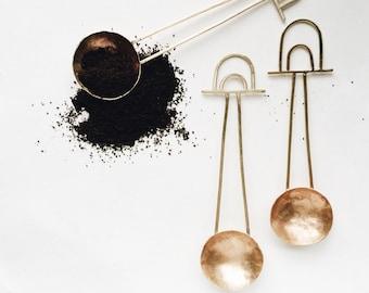 Coffee Scoop - Bronze - Pourover Coffee