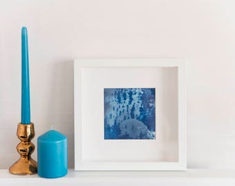 Cyanotype Hand Printed Photograph / Fine Art Print