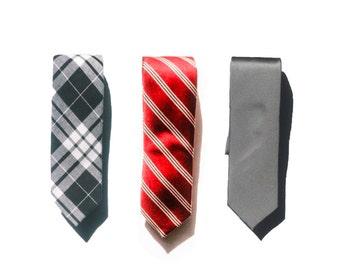 Slim Neckties (set of 3)
