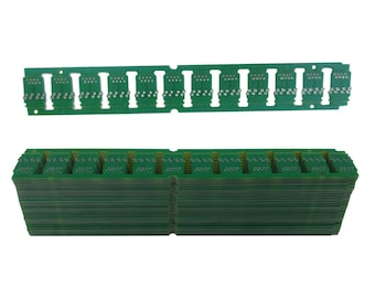 25 PACK Reclaimed Circuit Board E-Waste Scrap Wholesale Upcycled Craft Supplies Bookmark Size