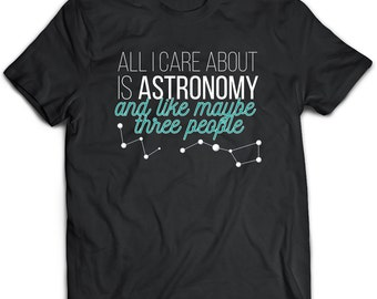 Astronomy Gifts, Astronomy Shirt, Black Astronomy Top, Black Tee, Black Top, Black Tshirt, Zodiac Gift, Constellation Shirt