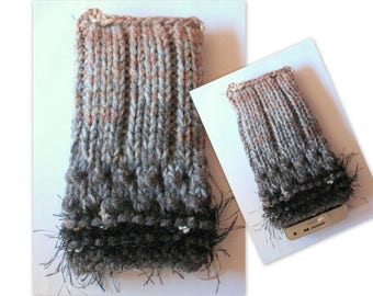 iPhone 6 case iPhone 6s case Rainbow Phone Sleeve Knit Phone Case Vegan Cell Phone Cozy Knitted Mobile Phone Sock iPhone 6 plus case