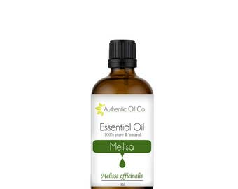 Melissa Essential oil100% Pure 10ml 50ml 100ml