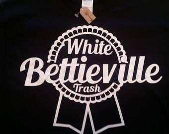 Bettieville White Trash Tee