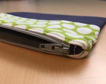 Zipper cosmetic pencil pouch