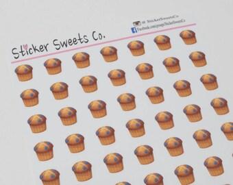 Muffin Planner Stickers