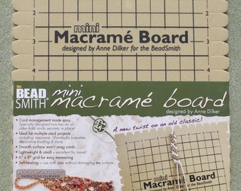 Small Macramé Board from Beadsmith 19x26.5cm (7.5x10.5 inches)