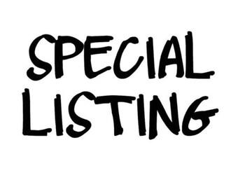 Specail listing for whitney r