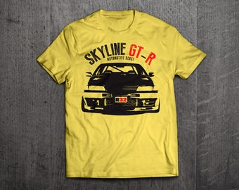 Nissan GTR Shirts, GTR R32 t shirts, Nissan shirts, Cars shirts, men t shirt, women t shirt, funny shirts, godzilla shirts, Drift t shirts