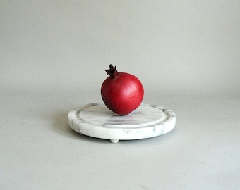 Marble Board Stand Tray