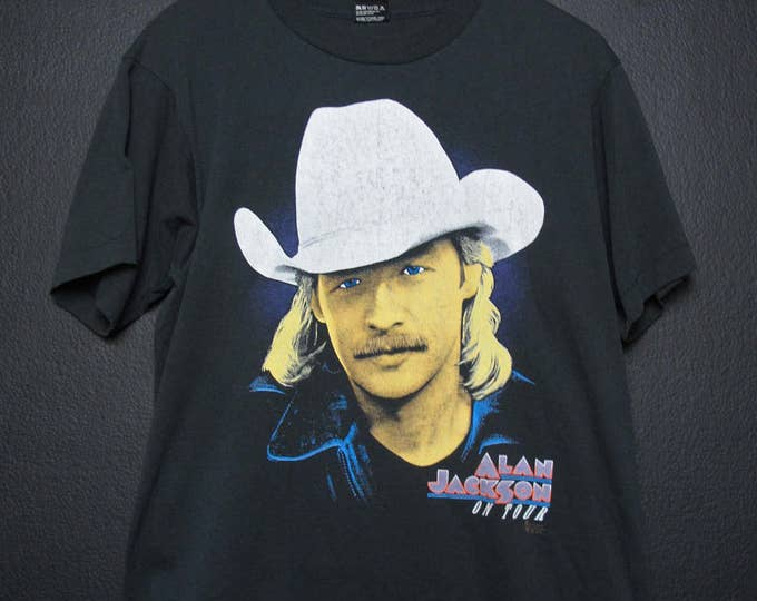 Alan Jackson On Tour 1992 Vintage Tshirt