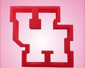 Varsity Letter UH Cookie Cutter