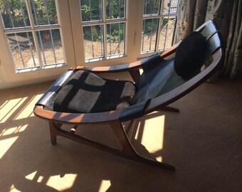 Teak Holmenkollen Chair by Arne Tidemand Ruud Norway - 1959