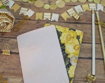 Traveler's Notebook Folders   A6 Size Double & Single Pocket