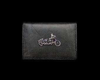 Motorcycle Business Card Case