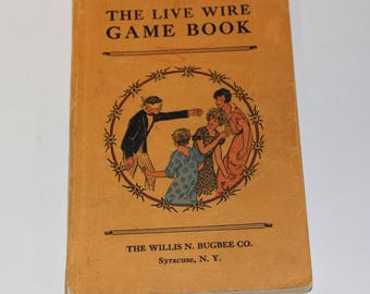 The Live Wire Game Book - 1930 (P24)