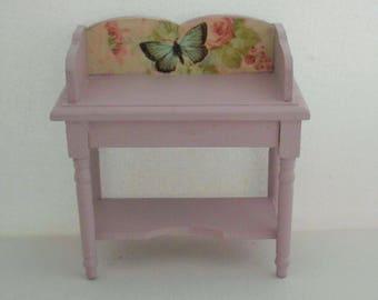 doll house furniture, miniature furniture, 12th scale furniture, doll house unit