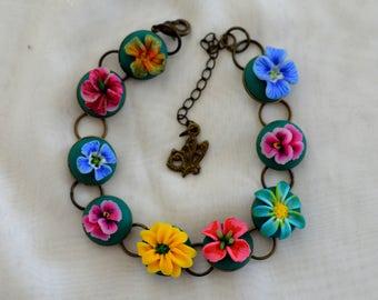 Women braclet,spring,flowers,braclet,summer