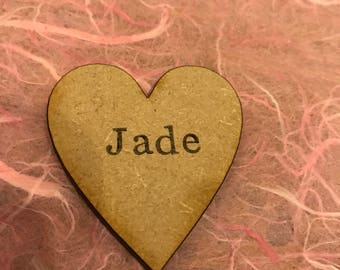 Additional names on hearts for family trees for when you need to add to your family