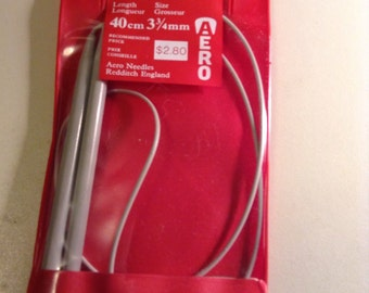 Circular Twin Pin needle 40 cm 3 3/4mm