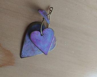 Tin Heart Pendant